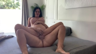 Morning sex with Jasmine Jae, watch and she puts her tongue deep in my ass
