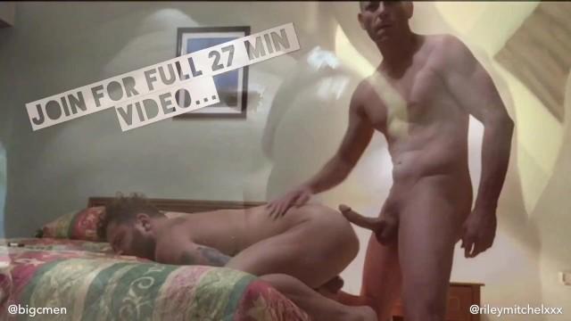Hiv positive gay porn stars Porn star riley mitchel gets bred by big c at a raunchy weho motel