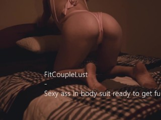 In body suit ready to get fucked fitcouplelust...