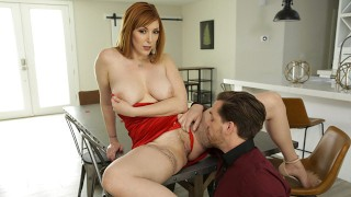 Busty Redhead Vixen Lauren Phillips Valentines Day Sex Session S10:E10
