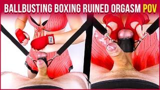 BALLBUSTING BOXING Handjob & Balls Torture Ruined Orgasm CBT POV | Era