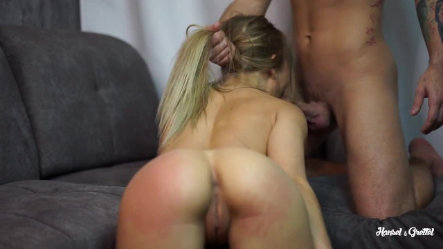 Spank on me Teen sporty girl likes spanking ass before fuck and cum in her mouth