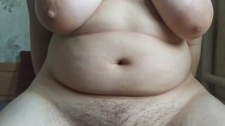 Chubby girl riding fat cock and takes huge unprotected impregnation creampie