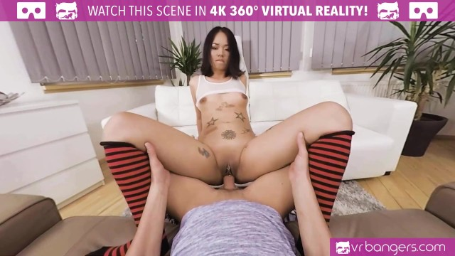 VR BANGERS Tattooed Asian Screwing During European Vacation 11