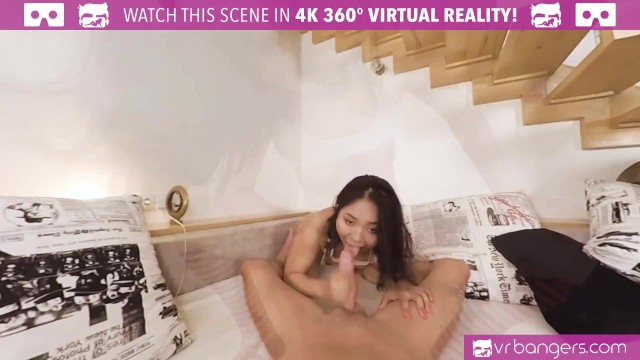 VR BANGERS Tattooed Asian Screwing During European Vacation 22