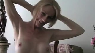 Awesome MILF Babe Gets Down At Home