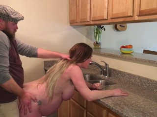 Gets ass fucked and creampied...