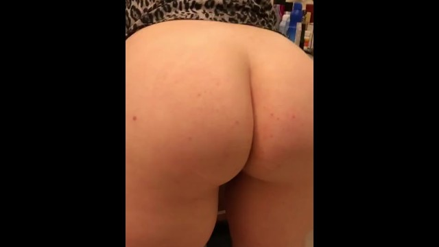 THICK WIFE SHOWING OFF HER ASS 6