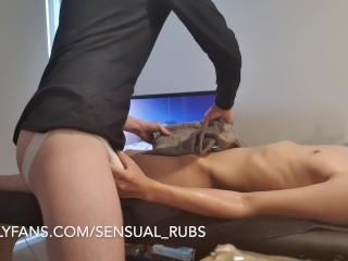 Quick twink massage...