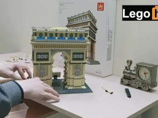 Lucky Guy Builds Legos For Almost 4 Hours
