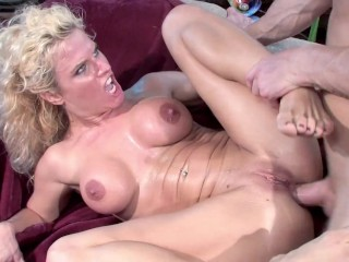 Busty whores sucked huge cock each ass stuffed...
