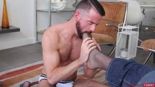 Kinky Bear Rims and Fucks his boy in Lingerie