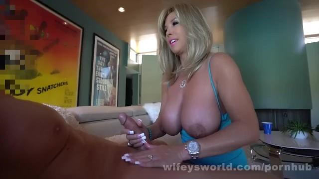Penny movies porn wifeys world - Handjob suprema - wifey slurps up his cum and swallows