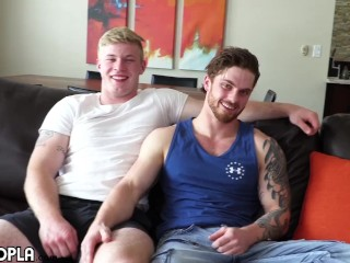 Military Jock FUCKS Pretty 18yo Blonde Teen. Hot CUM SHOT facial