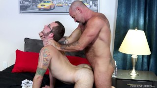 MenOver30 - Older Bear Goes Raw On His Cub