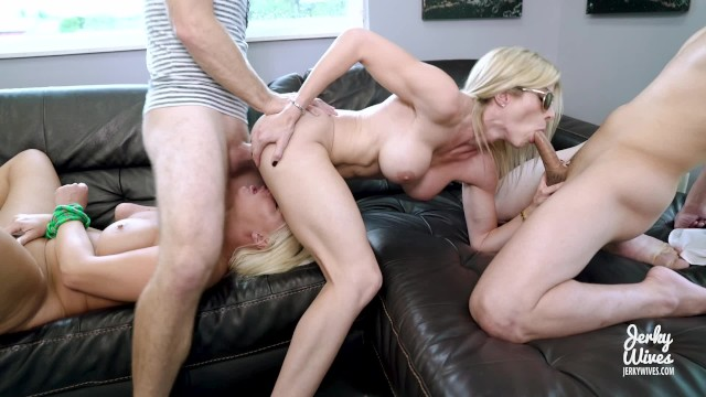 Johnny bravo porno Horny milfs with huge tits give up their asses cory chase and london rivers