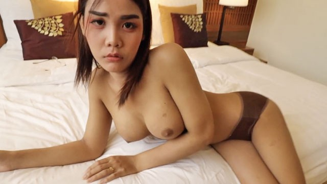 Ladyboy sex tube - Helloladyboy thai asian ladyboy begs for messy cum