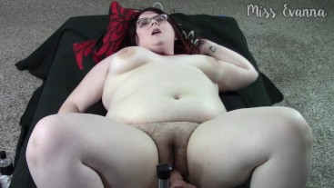 First Time Fuck Machine POV