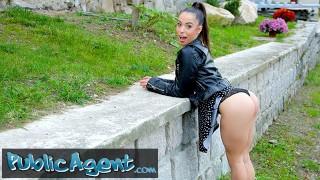 Public Agent Beautiful Latina Anastacia Brokelyn Fucks a Fat Cock