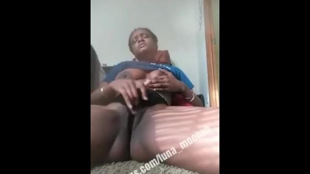Ebony vibrating piss play 16