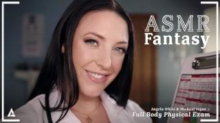 ASMRFantasy – Dr Angela White gives Full Body Physical Exam