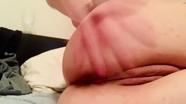 Butt plug, spank and squirt!! 13