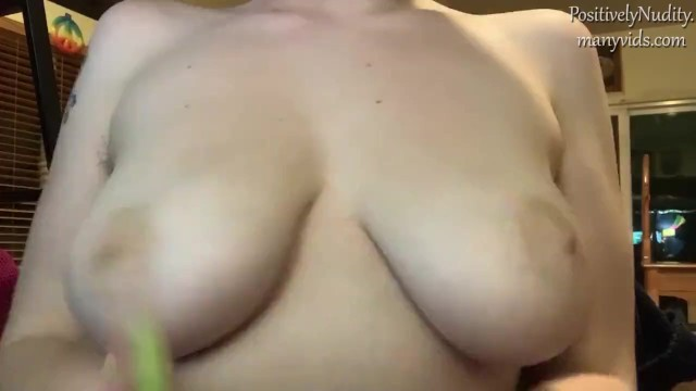 Playing With My Boobs 10