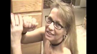 Hot Mature Mom Sucks,Swallows and Deepthroats My Cock!