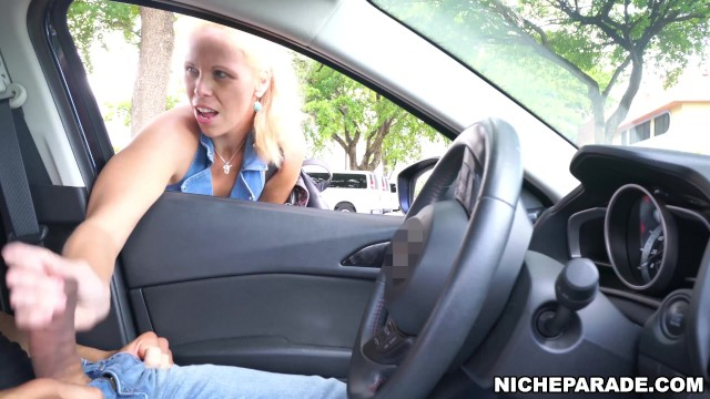 Videos ass parade - Niche parade - blonde cougar jacked me off after i flashed cock at her