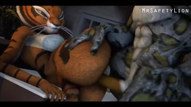 The chuang shang de gong fu secret sexual lovemaking system Animelois tai lung from ku fu panda fucks master tigress.mp4
