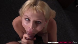 Gorgeous amateur Charley casting cowgirl before cum in mouth