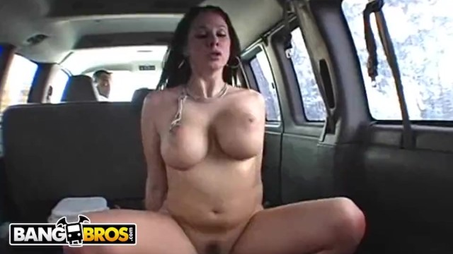 Gianna micheals interracial - Bangbros - gianna michaels classic riding dick in bang bus loop