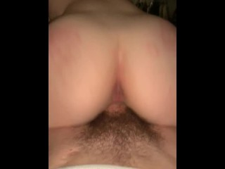 Sexy Reverse CG on thick cock