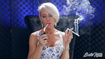 Double Your Addiction - Coerced Smoking - Nikki Ashton