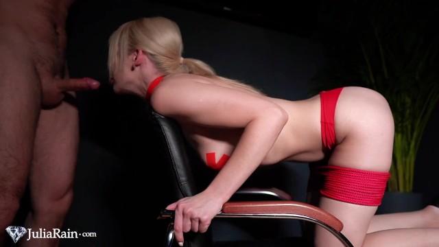 Facefuck and Rough Sex Big Cock Boyfriend - Hard Bondage Domination 2
