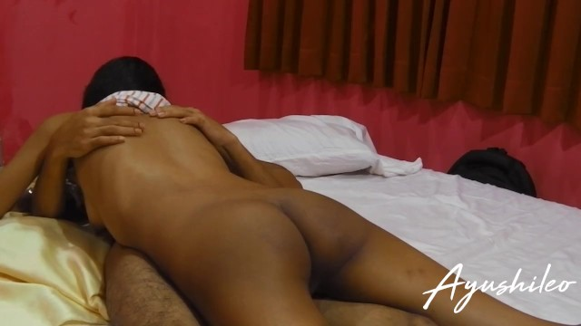 Asian lifestiles Sri lankan small school couple enjoying their sex life කකල අසසන උරනන