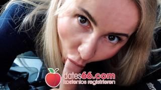 HOT ASS Blonde Teen horny public fuck in rain! Tania Swank Dates66