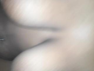 Sexy tiny black homemade period sex pt 2cum...