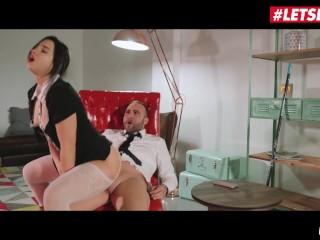 XXXShades – Horny Russian Maid Taissia Shanti Fucks Her Client – LETSDOEIT