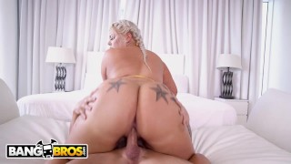 BANGBROS - Big Booty White Instaho Ashley Barbie Riding Tyler Steel's Cock