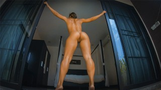 I Fucked a Super Hot Fitness Girl & Filled Her Mouth with Cum