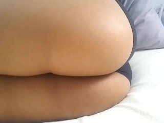 In bed video...