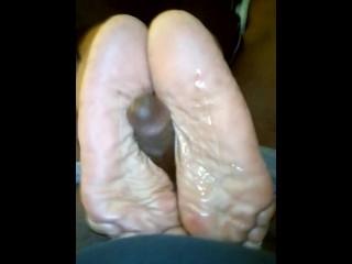 Dry soles...