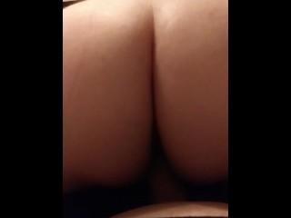 Pov your bitch loves to ride strapon orgasm...