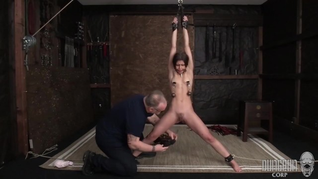 Stretching pee hole female Sexy latina submits to stretching and orgasms.