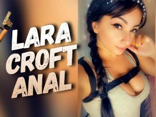 Lara croft machine creampie...