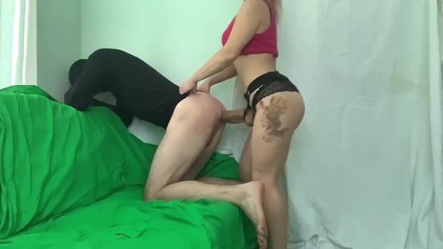 Free sex vid huge insert Rough pegging русская блонда активно трахает парня в жопу