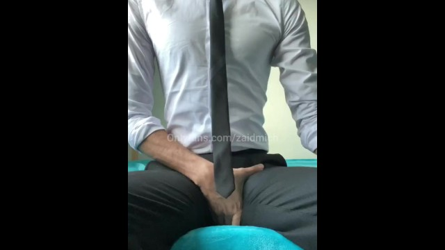 Dog dick mans ass - Horny man in suit huge dick cumshot