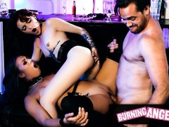 Burningangel Horny Af Ass Fucking Teens Seduce A Bartender
