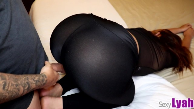 Big Booty Latina Leggings